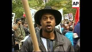 USA: NEW YORK: KU KLUX KLAN MARCH (2)
