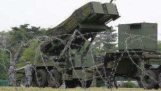 防衛省が弾道ミサイル防衛訓練を公開 陸上自衛隊朝霞駐屯地