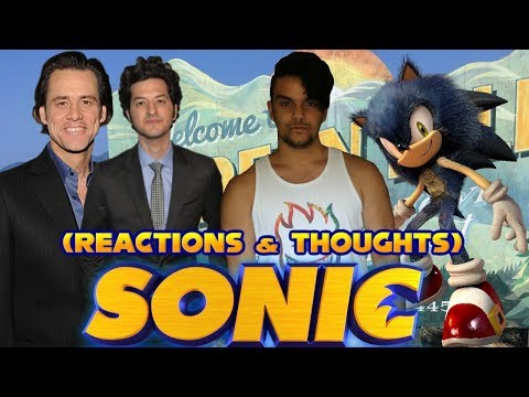 Sonic The Hedgehog 2019 Movie (Cast, Set Photos & Details) Reaction & Thoughts