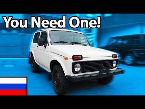 Lada Niva – Why You NEED One!! 🇷🇺