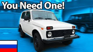 Lada Niva - Why You NEED One!! 🇷🇺