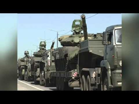 Raw: Russian Troops Apparently Leaving Border