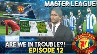 [TTB] PES 2018 - Man United Master League - Are We In Trouble?! - Ep 12