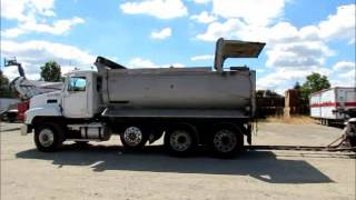 For Sale Mack CH613 Tri/Axle Dump Transfer Truck Set Quad/Axle bidadoo.com