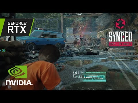 SYNCED: Off-Planet | Official GeForce RTX Ray Tracing Reveal Trailer