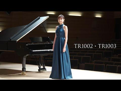 【荒井里桜コラボドレス】 TWEED DRESS × RIO ARAI ARTIST Collaboration 【TR1002・TR1003】