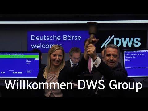 Börsengang (IPO) DWS Group