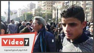 وزير الثقافة حلمى النمنم  ورشوان توفيق وعبدالله مشرف يحضرون جنازة كريمة مختار