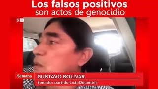 Gustavo Bolivar dice porqué se puede decir Genocida a Álvaro Uribe