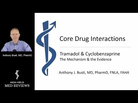 Pharmacology - Tramadol & Flexeril Drug Interaction