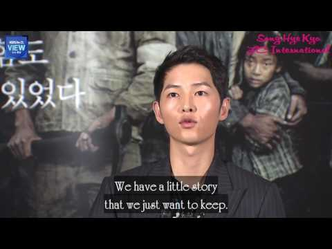 Engsub 170719 Song Joong Ki shared his feeling about marriage with Song Hye Kyo