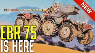 Panhard EBR 75 is HERE • BEAST!? ► World of Tanks Panhard EBR 75  Gameplay and Review
