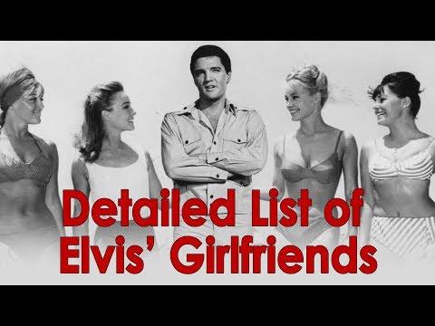 BEST detailed list of ELVIS PRESLEY girlfriends on YOUTUBE