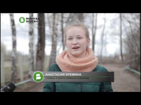 Ученики школы № 25 Вологды – участники проекта «Классный друг» – вышли на субботник