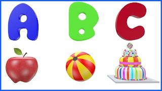 ABC Song ABCs Video for Preschool Learning Alphabet Sounds ABCD Rhymes Poems for Kids