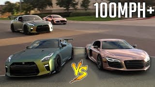 INTENSE DRAG RACE vs TANNER BRAUNGARDT