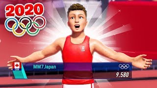 THE NEW OLYMPICS TOKYO 2020 GAME
