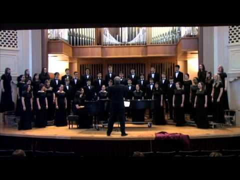 Delphian School Varsity Choir Performs at Linfield College Festival