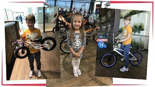 Влог: Выбираем новый велосипед + покупаем самокат Велоград Уфа // Trip to the store sport Store
