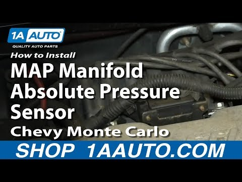 How to Replace MAP Sensor 82-04 Chevy Monte Carlo