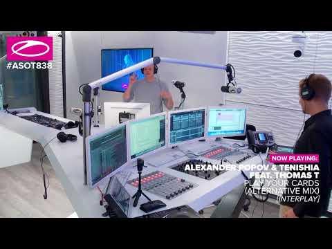 Alexander Popov & Tenishia feat. Thomas T - Play Your Cards (Alternative Mix) [#ASOT838]
