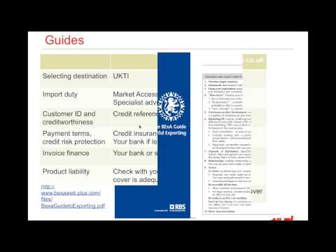 Food & Drink   How to scale up food and drink export