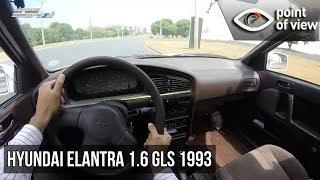 видео Hyundai Elantra 1992