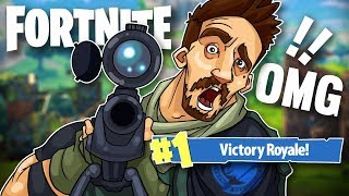 COULDN'T BELIEVE I HIT THIS SNIPER SHOT! - FORTNITE