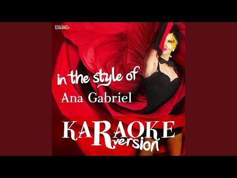 Evidencias (Karaoke Version)