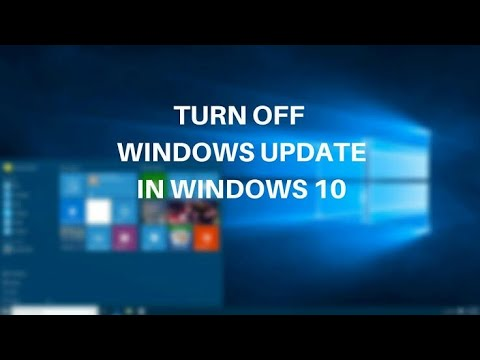disable windows update on windows 10 permanently