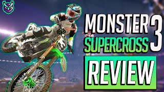 Monster Energy Supercross 3 Switch Re-Review-New patch with online modes (Video Game Video Review)