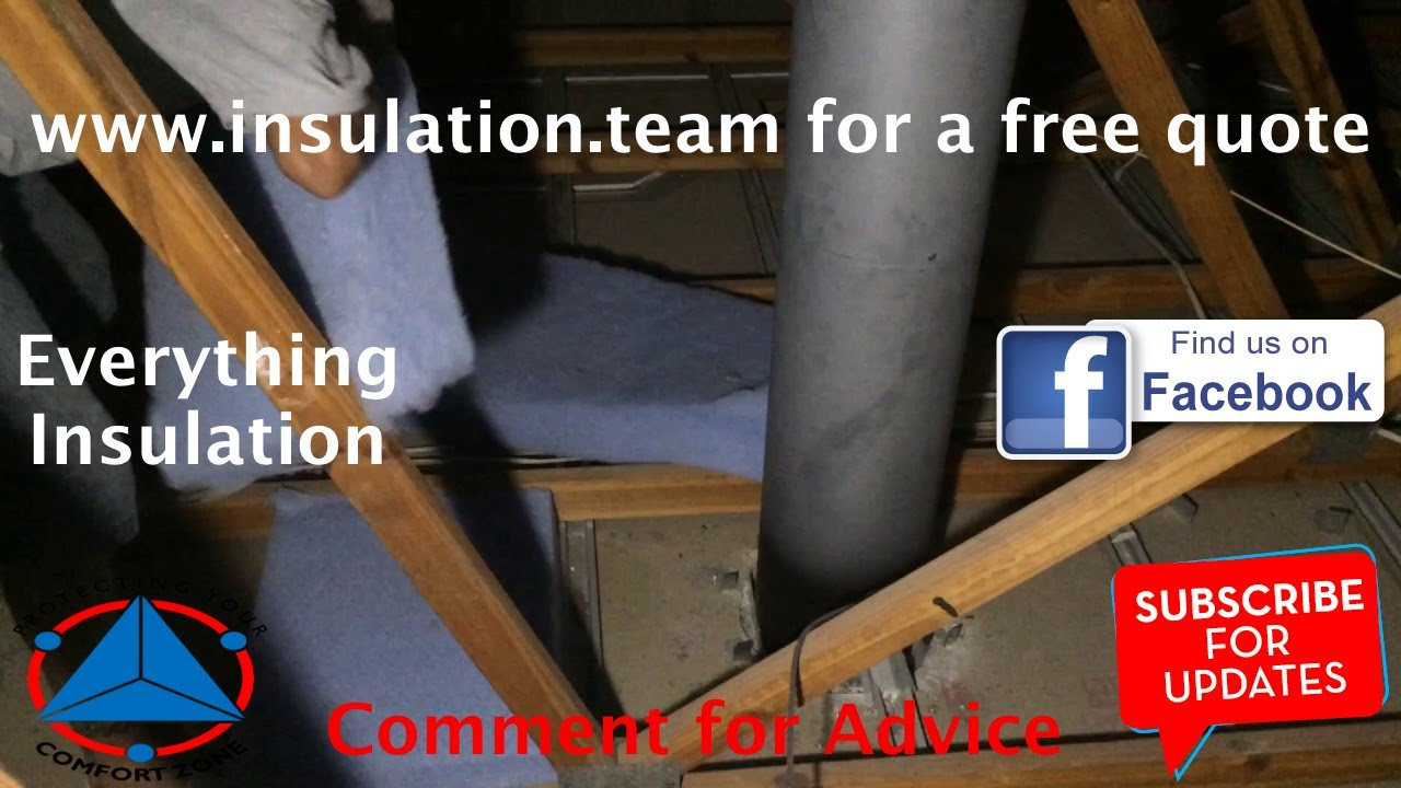 how do you insulate around fire place flues with cellulose