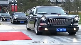 FAW HongQi L5 в кортежах глав государств. Путин, Обама, султан Брунея и другие