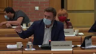 Intervention de Frédéric Bourdon au sujet du budget (2)