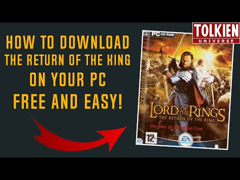 How To Download Lord Of The Rings: The Return Of The King Free On Your PC (Easy, No CD Needed)