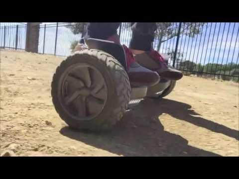 Хoвърборд Хамър с по-големи и по-устойчиви колела 7