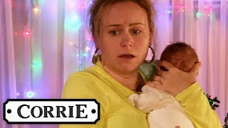 Chesney and Gemma Struggle to Take Care of the Quads | Coronation Street