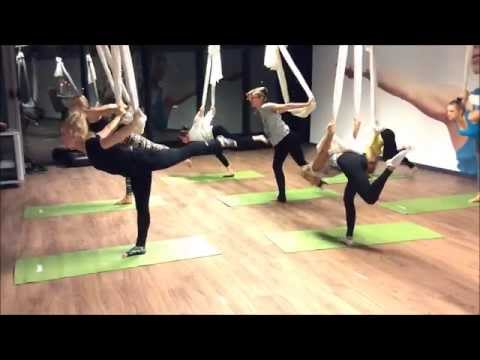 Aerial Yoga  - Kinetic Fitness Club
