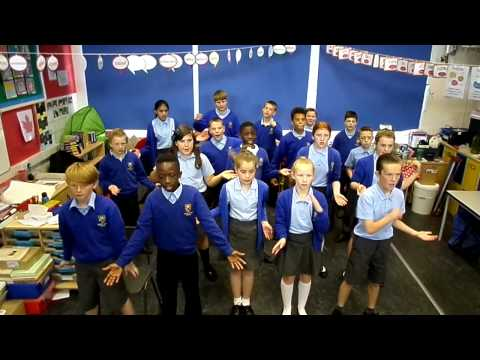 E6's square number maths song