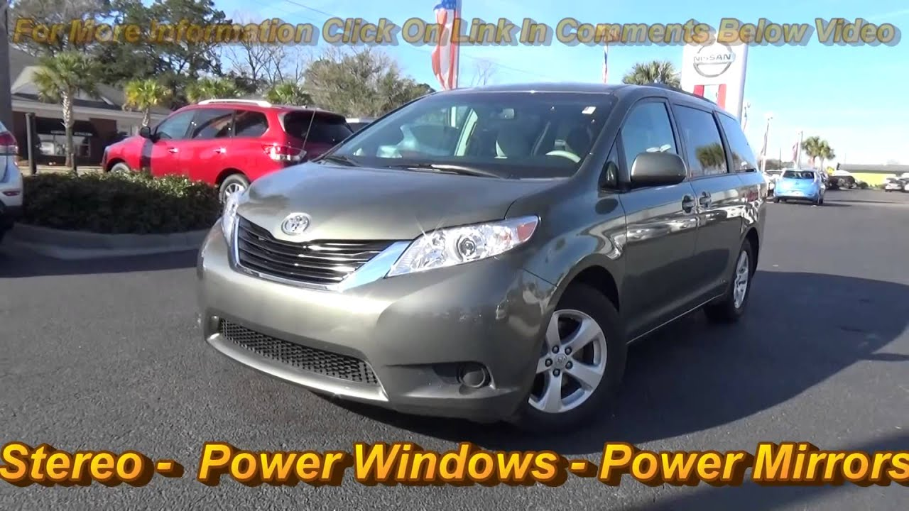 2011 Toyota Sienna LE Van A fered By Morris Nissan