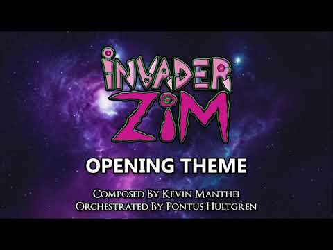 invader zim - Opening theme- Orchestral (extended)