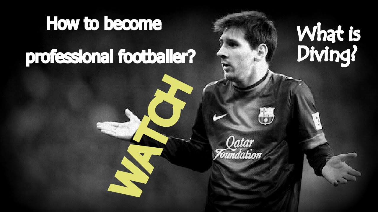 How to become a football player