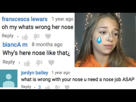 whats wrong with my nose. trying to fix it... thumbnail