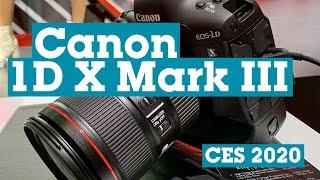 CES 2020: Canon 1D X Mark III | Crutchfield