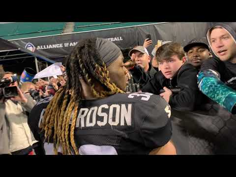 Trent Richardson hero exit after Birmingham Iron opener