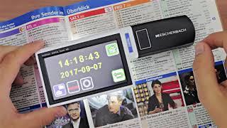 Produktvideo zu Mobile Lesehilfe Eschenbach mobilux digital Touch HD