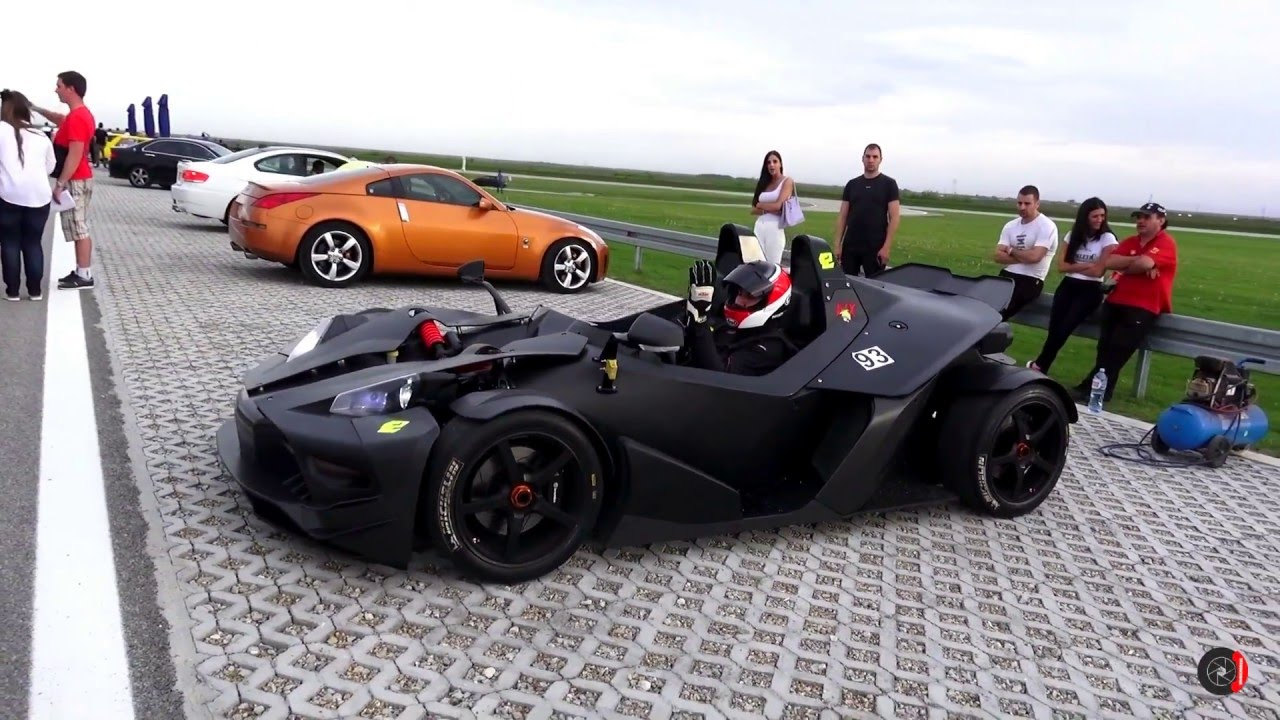 KTM X-Bow RR in action on track!!! - YouTube