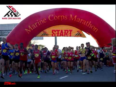 Marine Corps 40th Marathon in DC