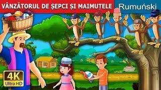 VÂNZĂTORUL DE ȘEPCI ȘI MAIMUȚELE   Povesti pentru copii   Romanian Fairy Tales