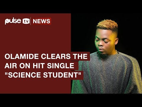 Olamide 'Science Student' Does Not Encourage Drug Abuse, He Explains | Pulse TV News